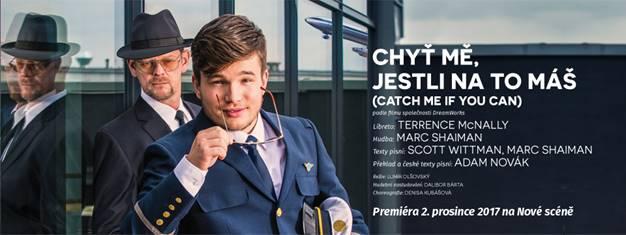 muzikál CATCH ME IF YOU CAN-Divadlo J.K.Tyla Plzeň